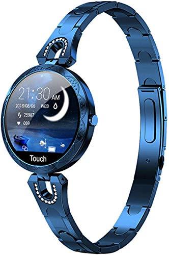 Reloj inteligente para mujer, resistente al agua, dispositivo portátil, reloj deportivo, monitor de sueño, pulsera deportiva, D