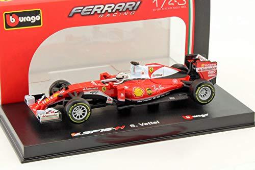 Bburago-988#5- Ferrari SF16-H F1- Vettel 2016- Special Edition- Scala 1/43- Rosso