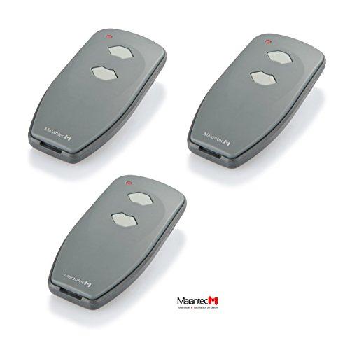 3 x Marantec Digital 382 Mini Handsender 433 MHz * Nachfolger Digital 302 * - Funksender Fernbedienung Garagentoröffner 122421