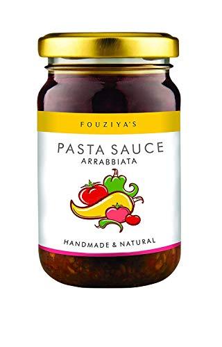 Pasta Sauce (Arrabbiata) - Italian Snacks Seasoning 260 GR (9.17 oz) by Fouziya's Cooking
