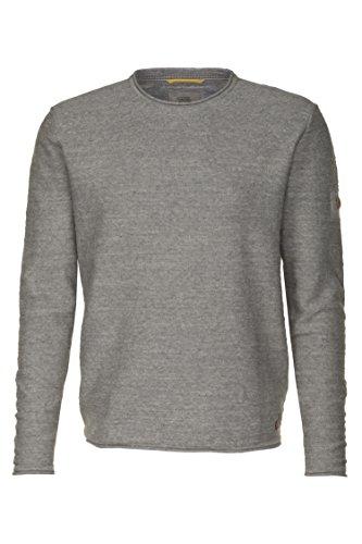 Camel Active - Suéter para Hombre, 314062, Gris (Grey 35), XL