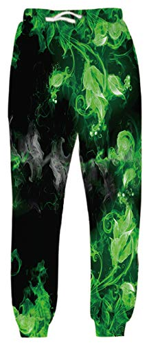 Belovecol Mens Women Joggers Sport Pants Casual Sweatpants Funny Running Gym Trousers
