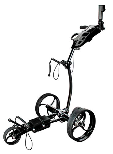 Callaway Traverse Electric Push Cart Remote Control Golf Push Cart for Golf Clubs