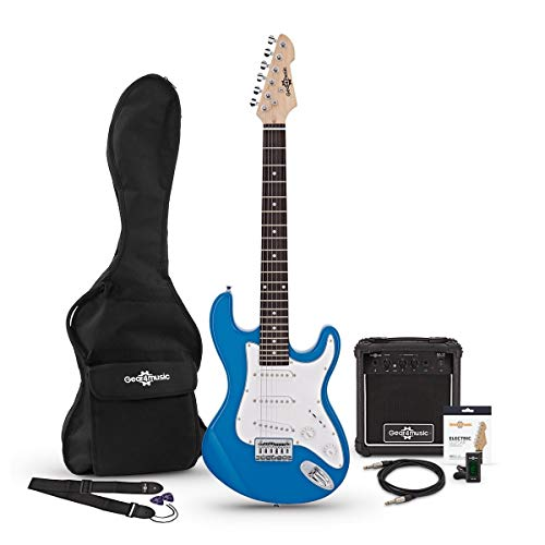 Set de Guitarra Electrica LA 3/4 + Amplificador Blue