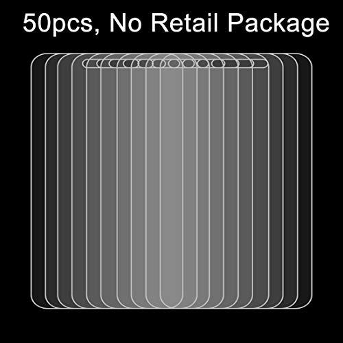HUANGPUJIAN Fundas de teléfono 50 unids para Huawei P8 0.26mm 9H dureza superficial 2.5D película de vidrio templado a prueba de explosiones, ningún paquete al por menor