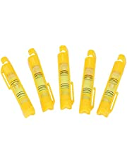 Labuduo Nivel de Burbuja de línea de Cuerda de Alta precisión, Nivel de Burbuja de Cuerda pequeña, 5 Piezas para albañilería de fontanería