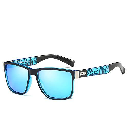 slyqcyj Gafas de sol polarizadas deportivas para hombres gafas de sol de montar también gafas color de la imagen