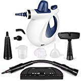 KodaQo Handheld Pressurized Steam Cleaner, Steam Cleaning with 9-Piece Accessory Set Multi-Surface All Natural for Home, Kitchen, Auto, Patio and More