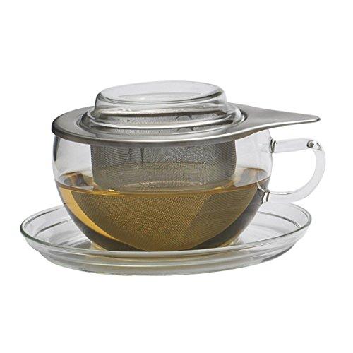 Trendglas Teetasse Tea Time I inkl. Edelstahl-Filtereinsatz 0,3 l