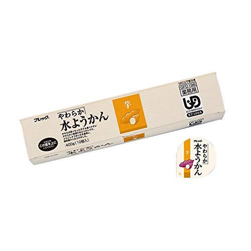 【冷凍】 味の素 わらか 水ようかん 芋 400g 和菓子