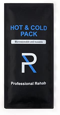 Phyya Rehab Reusable Ice Pack Hot and Cold Gel Pack Flexible 10 x5 Therapy and Relief for Back product image