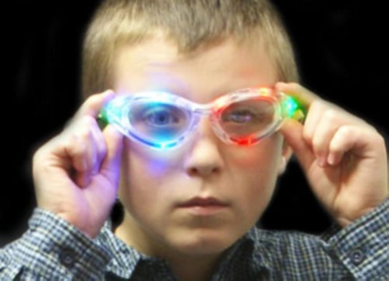 Flashing Glasses  Multi x 18