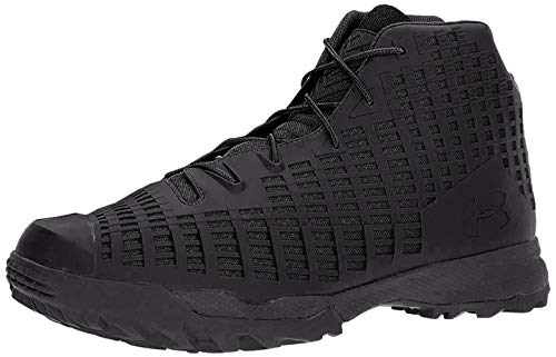 Under Armour Men's Acquisition Military and Tactical Boot, Black (001)/Black, 14