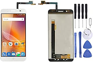 Cell Phone Replacement Accessories LCD-skärm och digitizer full montering för ZTE Blade A610 Plus / A2 Plus Phone Spare Part