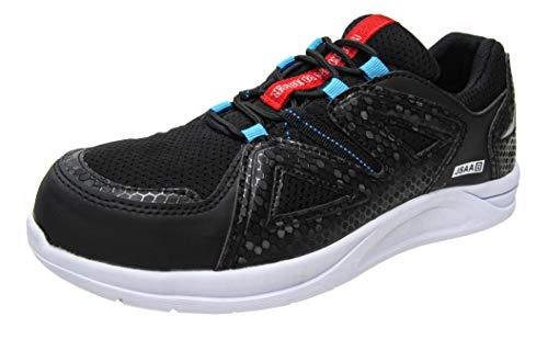 [弘進ゴム] 防水・耐滑作業靴 安全タイプ ファントムライトFCL-700WR (27.0cm, ブラック)