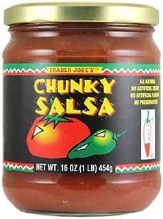 Trader Joe's - CHUNKY SALSA 16 OZ (1LB) Fat Free
