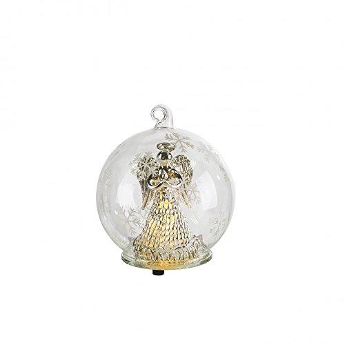 LED glas bal engel decoratie tafel lamp kerst XMAS wonen ess kamer lamp Globo 23247