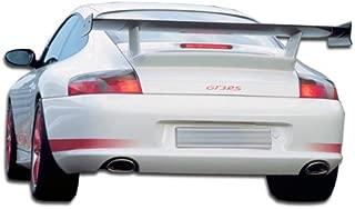 Brightt Duraflex ED-QEK-031 GT-3 RS Look Rear Bumper Cover - 1 Piece Body Kit - Compatible With 996 1999-2004