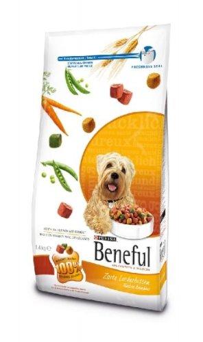 Beneful Zarte Leckerbissen 1 x 1,4 kg Hundefutter Hunde-Trockenfutter