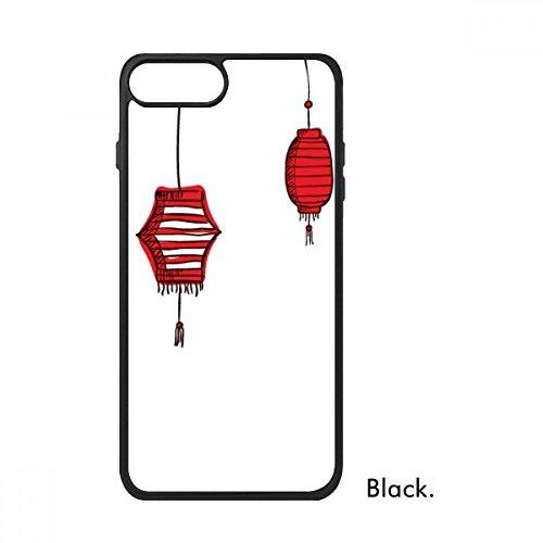 Bestchong Rode Lantaarns Chinees Jaar van Haan Voor iPhone SE 2 nieuw voor Apple 78 Case Cover