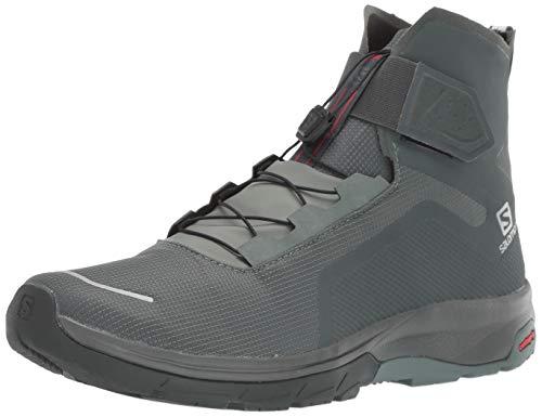 SALOMON Calzado Alto T-MAX WR, Botas Hombre, Balsam Gr/Urban Ch, 42 EU