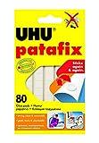 UHU 39125 - Pack de 80 masillas adhesivas, color blanco