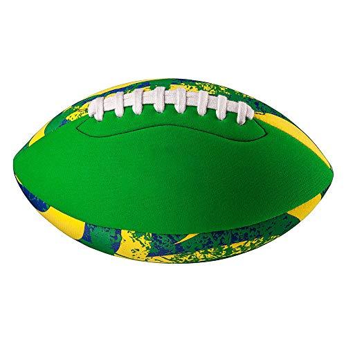 TOOLZ Neopren Football - grün - 22cm - Strand- und Wasserspielball