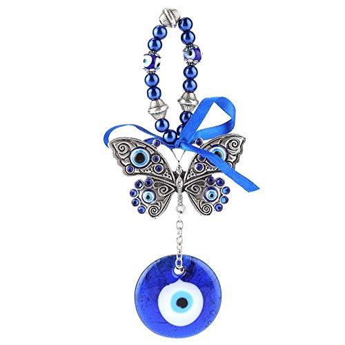 Hilitand Turkish Blue Evil Eye Segen Amulett Wandbehang Home Decor Beschützer Muslim Good Luck Segen Einweihungsparty Geschenk