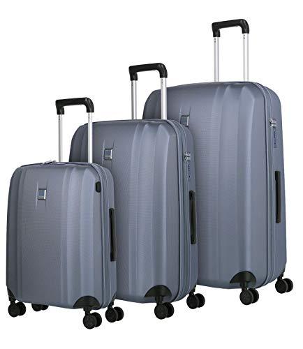 Titan Xenon Suitcases 4 Wheels Set of 3pcs.