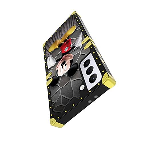 Lopiuwy Funda para Samsung Galaxy S21 para niños y niñas y mujeres, dibujos animados lindos dibujos animados Mickey Mouse 26 Caracteres Slim Soft TPU Funda protectora para Samsung Galaxy S21