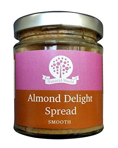 Nutural World - Krämig Mandel och Russin smör (170g) - Produkt prisbelönad