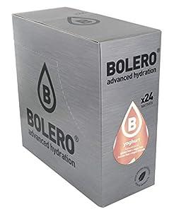 Bolero Bebida Instantánea Sin Azúcar, Sabor Yoghurt - Paquete de 24 x 9 gramos - Total 216 gramos