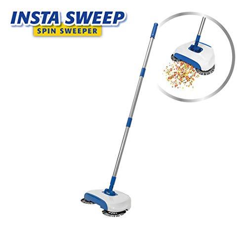 Insta Sweep Cleaning Broom bezem veegmachine handmatige voeding u. draadloos