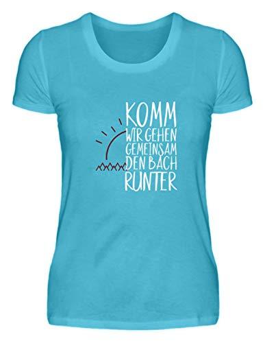 Kom, we gaan samen Den Bach Runter - Partner vrienden eenvoudig en grappig design - Damesshirt