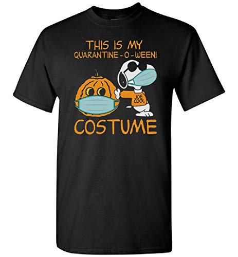 This is My Quarantine-o-ween Disfraz SnoopyT-camiseta, con capucha, personalizado