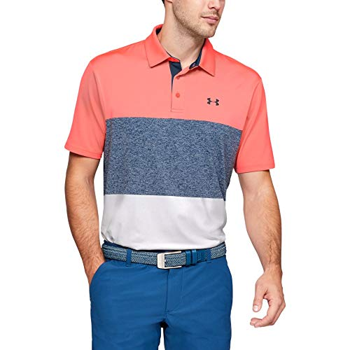 Under Armour Playoff 2.0, Polo T-shirt met korte mouwen, Poloshirt met korte mouwen en zonwerende mannen