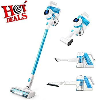 Simpfree Rechargeable Lithium Ion Battery Cordless Vacuum Cleaner