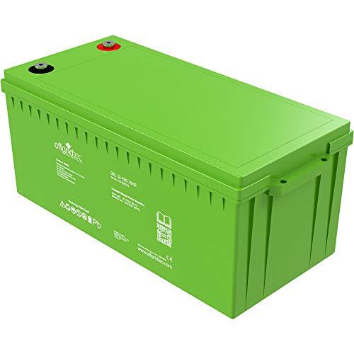 Offgridtec 200Ah GEL Akku 12V Solarbatterie besonders zyklenfest …