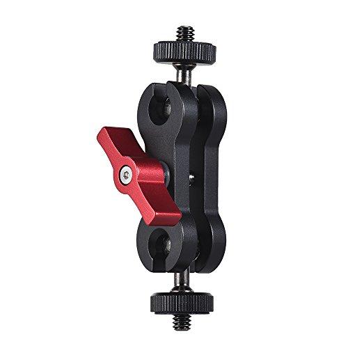 Docooler Articulation Magic Arm Monitorhalterung mit Doppelkugelkopf mit 1/4