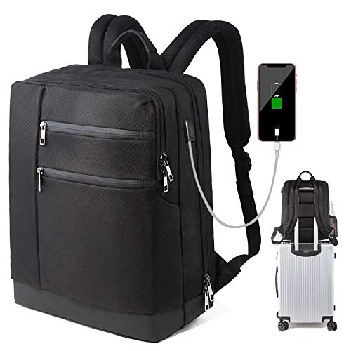 UKKO Large Capacity Business Backpack Laptop Bag Usb Charging Backpack Men'S Multifunction Travel Bag