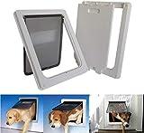 8bayfa Tragbare Haustier bagLarge Magnetische Pet-Schirm-Tür mit 2-Wege-Locking...