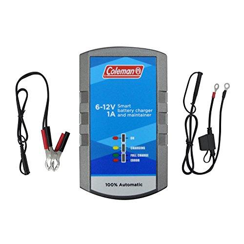 Coleman 60130 6V/12V 1A Battery Charger/Maintainer/Rejuvenator