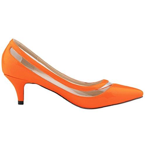 WanYang Damen High Heels Vorne Party Abschlussball Hochzeit Shallow Mund Schuhe mit Hohen Absätzen