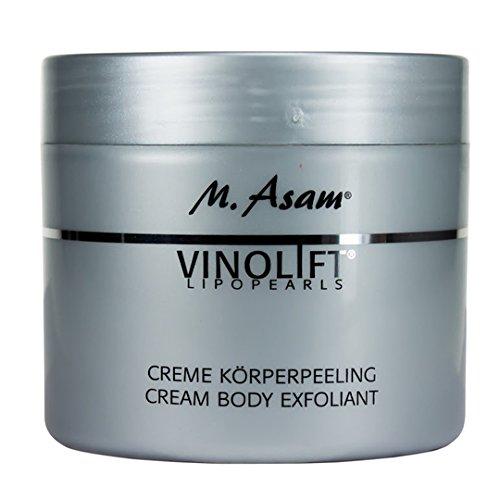 M.Asam Vinolift Creme Peeling (300ml) für Gesicht und Körper