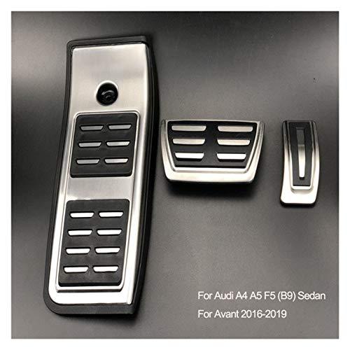 ZXC Acelerador de Freno del Coche del reposapiés del Pedal for Audi A1 A3 A4 B8 B9 A5 A6 A7 Q3 Q7 en Forma for el Touareg/Porsche Cayenne Macan/Skoda Asiento (LHD) Atmósfera Simple