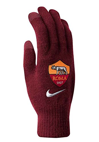 Nike NWGF5652LX AS Roma Support Knit Tech Handschuhe, Team Red/WHT LG/XL