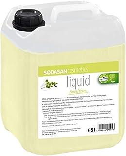 SODASAN LIQUID sensitive Bio Seife 5 Liter Kanister - ökologisch und umweltfreundlich Flüssigseife bio