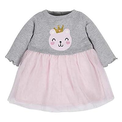 Gerber Baby Girls Dress, Gold dots, 12 Months