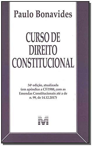 Curso de Direito Constitucional - 34 ed./ 2019