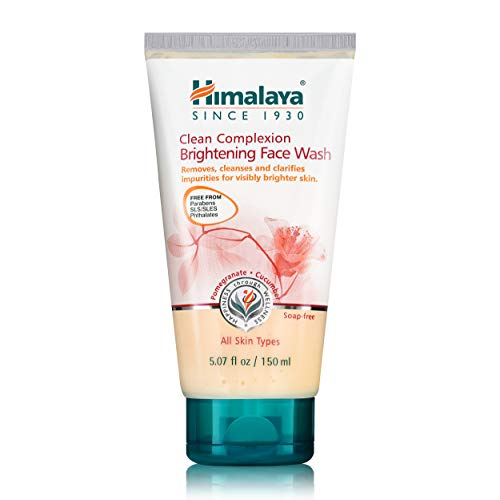Himalaya Clean Complexion Brightening Face Wash for Clear & Glowing Skin and More Even Skin Tone 5.07 oz